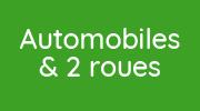 Bouton menu Automobile et deux roues
