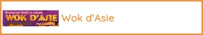 Wok d'Asie - 73330 La Baronnie - Le Pont de Beauvoisin - Restauration - Buffet