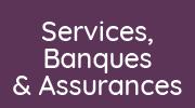 bouton services, banques, assurances, immobilier