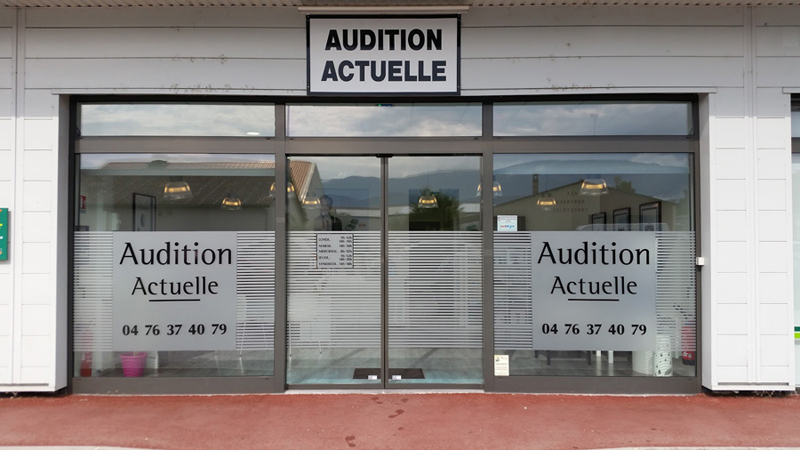 Audition actuelle